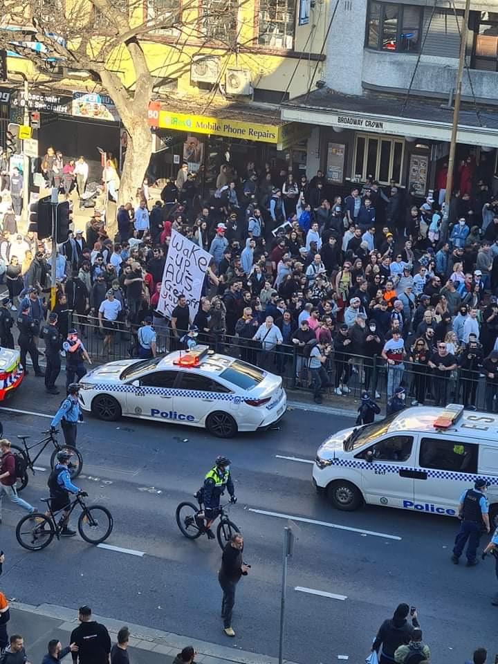 悉尼反封鎖抗議活動