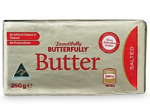 Beautifully Butterfully Salted Butter