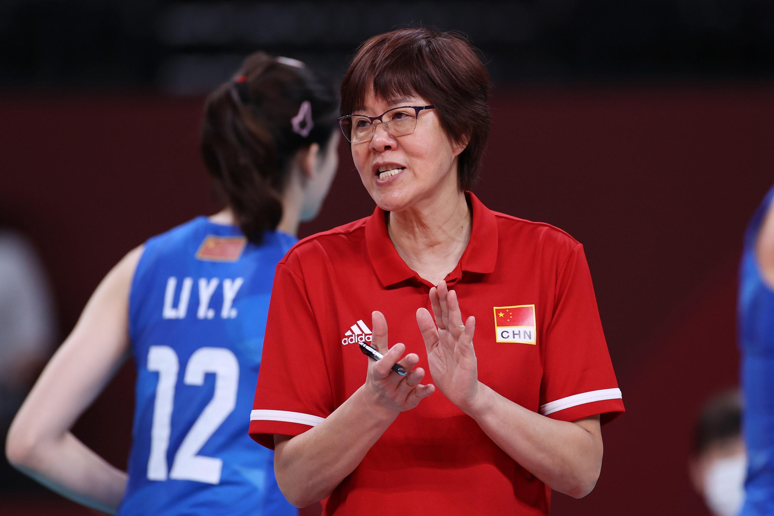 东京奥运 中国女排 郎平