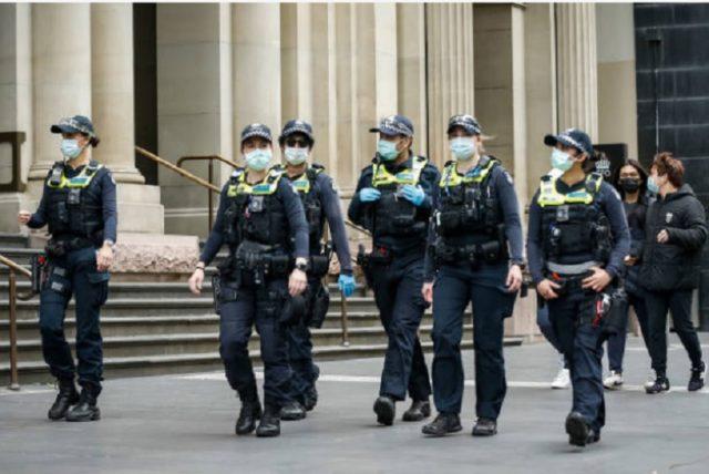 墨爾本警察,示威