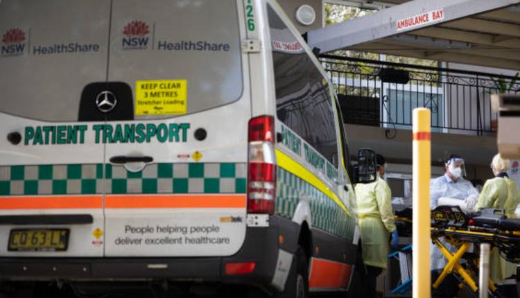 澳洲疫情,新州疫情,COVID-19,救护车